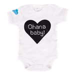 Salesforce Babygrow with Blackboard Heart