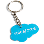 Salesforce Metal Keychain