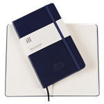 Moleskine Hardback Notebook - Blue