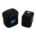 Travel Adapter with Four USB ports + USB C