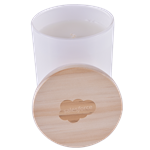 Candle With Wooden Lid